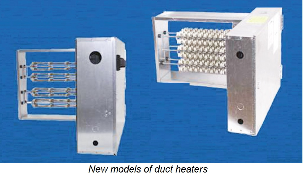 Greenheck Introduces Electric Duct Heater