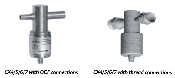 Emerson CX Series Expansion Valves and Controls
